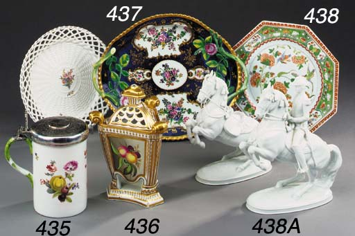 Two Vienna porcelain models of
