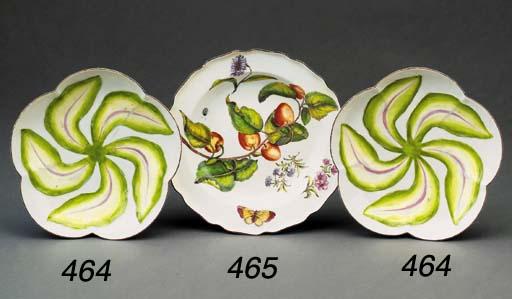 A Chelsea botanical soup-plate