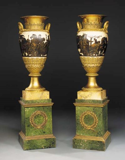 A pair of large Louis XVIII or