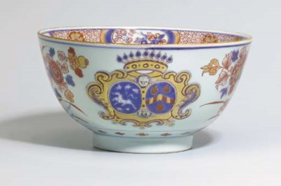 A CHINESE IMARI ARMORIAL 'MARR