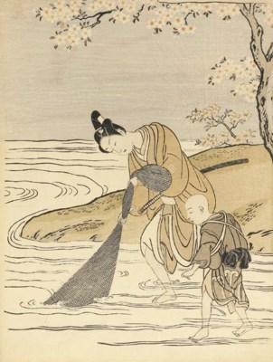 SUZUKI HARUNOBU (1724-70)