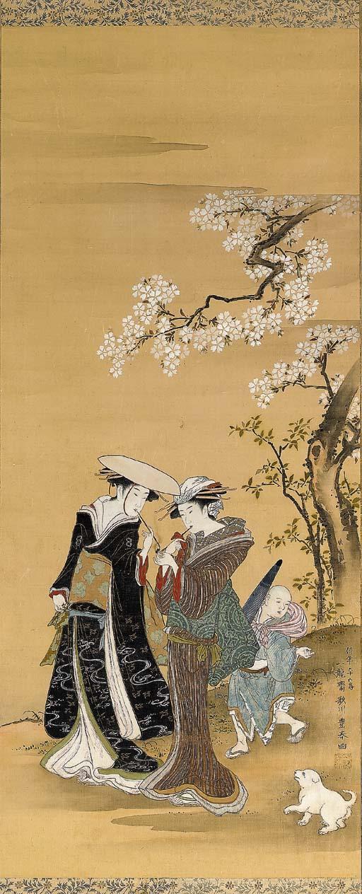 UTAGAWA TOYOHARU (1735-1814)