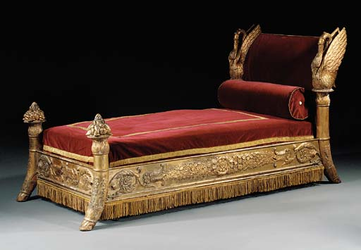 A LOUIS-PHILIPPE GILTWOOD AND