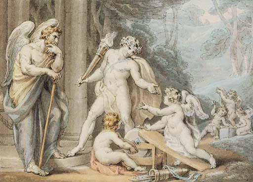 Edward Francis Burney (1760-18