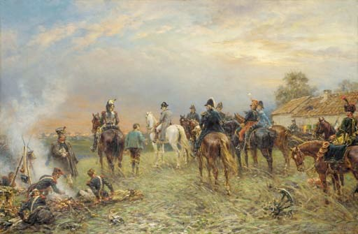 Ernest Crofts, R.A. (1847-1911