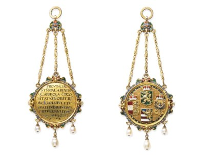 A 16th century tribute medal t
