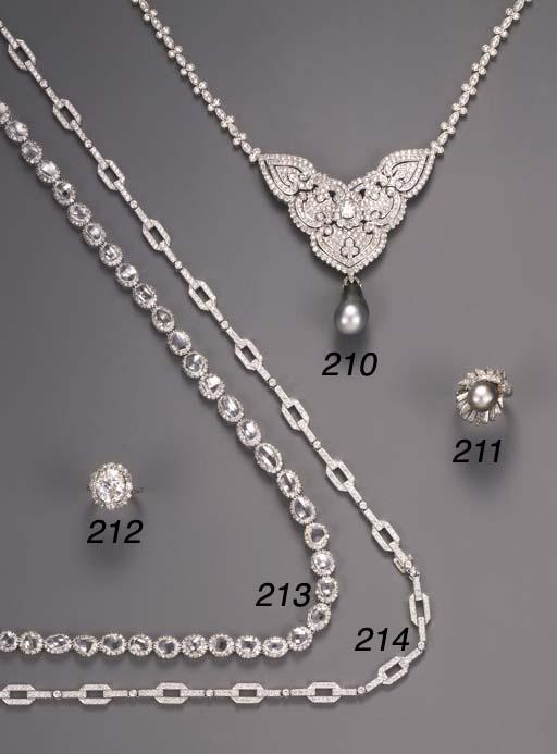 A diamond sautoir