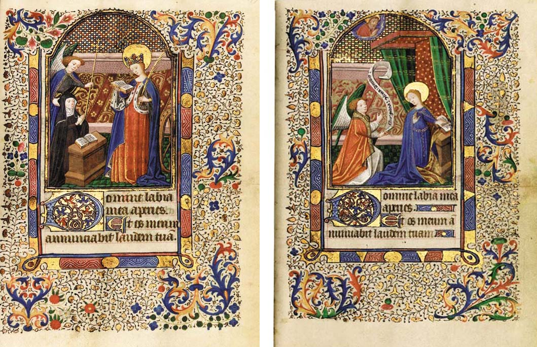 BOOK OF HOURS, use of Paris, in Latin and French, ILLUMINATED MANUSCRIPT ON VELLUM