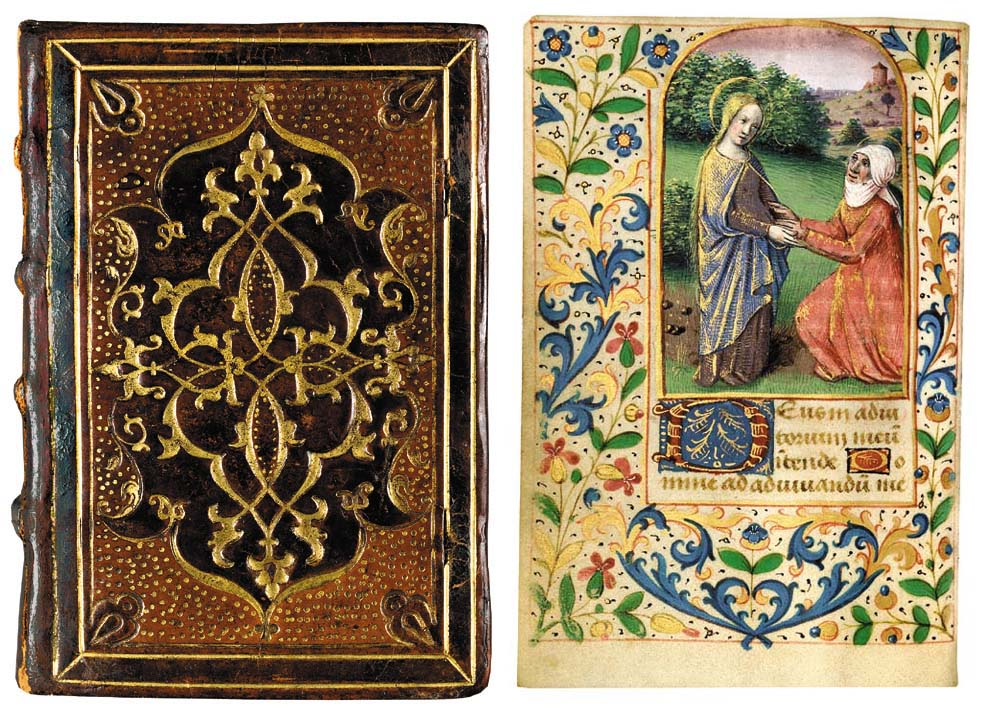 BOOK OF HOURS, in Latin and French, ILLUMINATED MANUSCRIPT ON VELLUM
