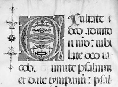 FERIAL PSALTER, in Latin, ILLU