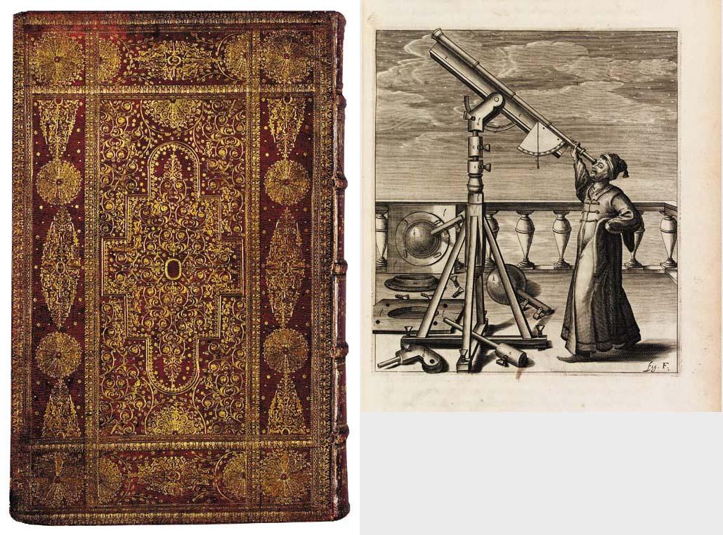 HEVELIUS, Johannes (1611-87). Selenographia. Danzig: Andreas Hünefeld for the author, 1647.