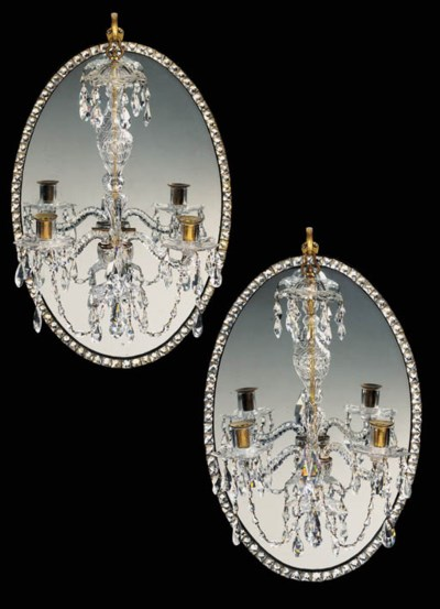 A PAIR OF IRISH GEORGE III CUT