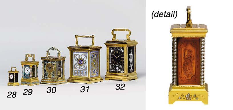 A rare Swiss gilt-brass, intag