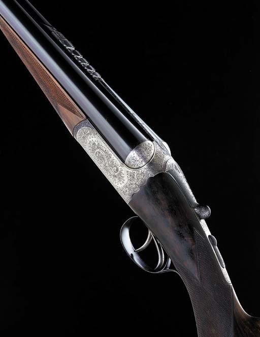 A 12-BORE (2¾IN) 'SUPER MAGNUM EXPLORA' DETACHABLE-BOXLOCK EJECTOR RIFLED-CHOKE SHOT AND BALL SHOTGUN-RIFLE BY WESTLEY RICHARDS, NO. 17498