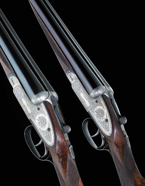 A PAIR OF 12-BORE 'IMPERIAL' S