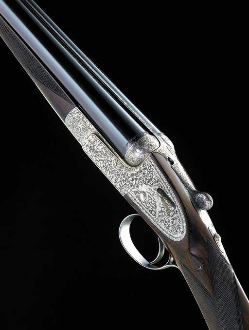 A 12-BORE SINGLE-TRIGGER 'ROYAL BREVIS SELF-OPENER' SIDELOCK EJECTOR GUN BY HOLLAND & HOLLAND, NO. 33263