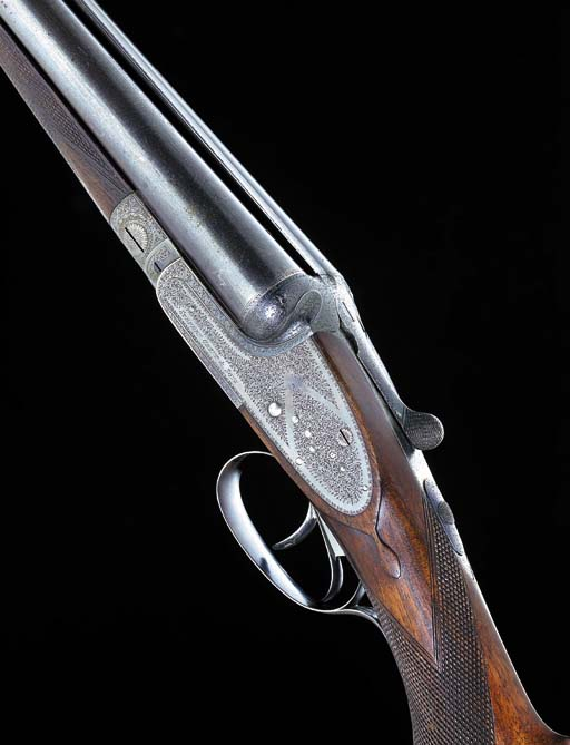 A 12-BORE (2¾IN) SIDELOCK EJEC
