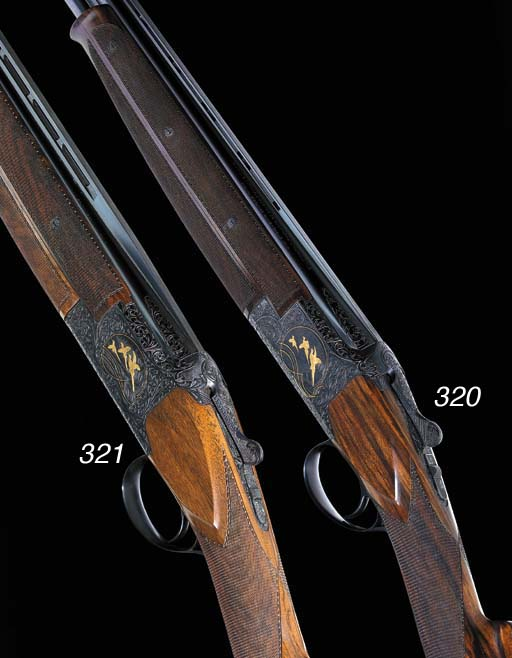 A FINE BROWNING .410 (3IN) SINGLE-TRIGGER 'MIDAS GRADE' OVER-AND-UNDER EJECTOR GUN, NO. 2256J8