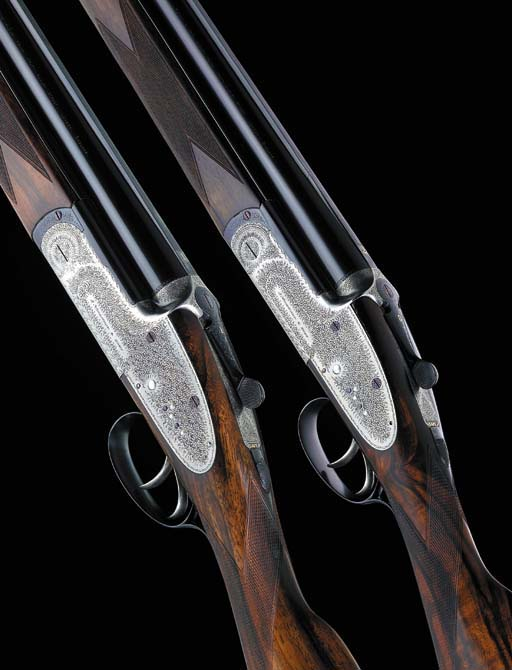A FINE PAIR OF 12-BORE OVER-AN
