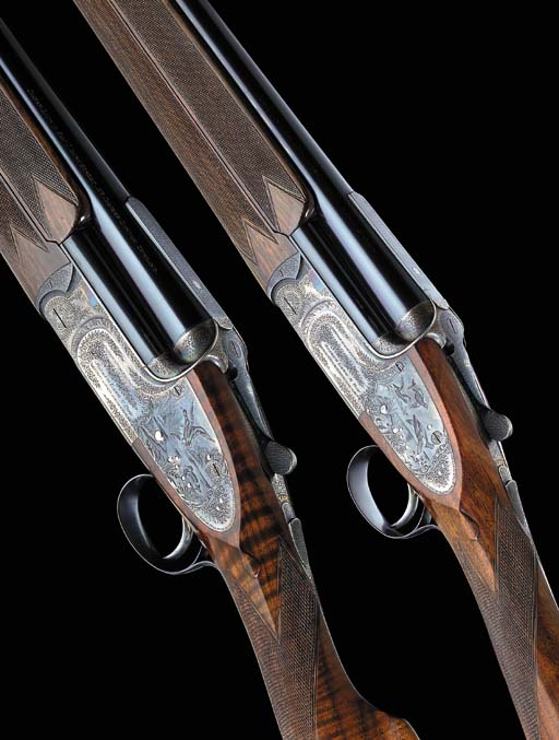 A RARE PAIR OF KELL-ENGRAVED 1