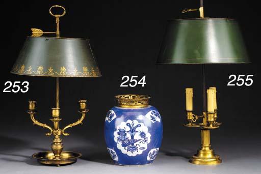 AN ORMOLU-MOUNTED CHINESE BLUE