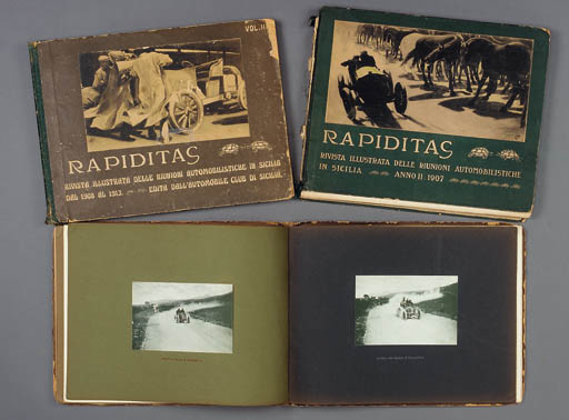 Rapiditas 1906-1908, Volumes I
