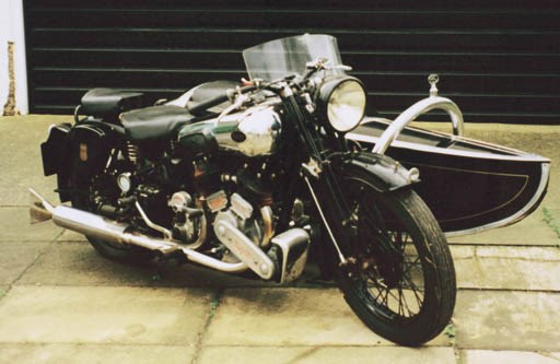 1939 BROUGH SUPERIOR SS80 WITH