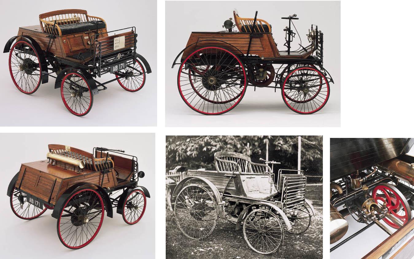 1894 SANTLER 3½HP DOGCART
