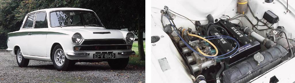 1965 LOTUS CORTINA MkI SERIES