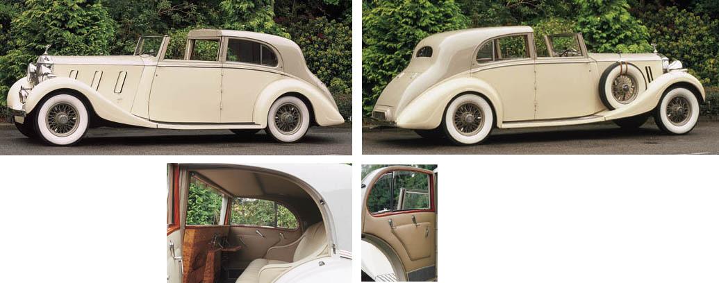 1936 ROLLS-ROYCE PHANTOM III S