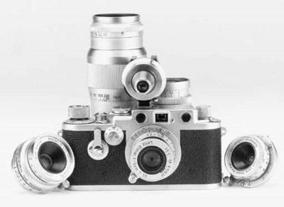Leica IIIf outfit
