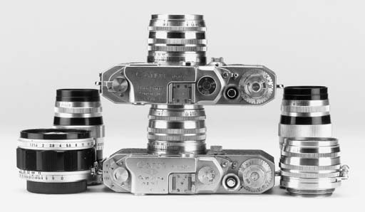 Canon cameras and equipment