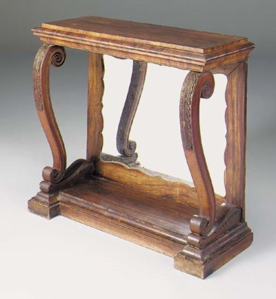 An early Victorian rosewood co