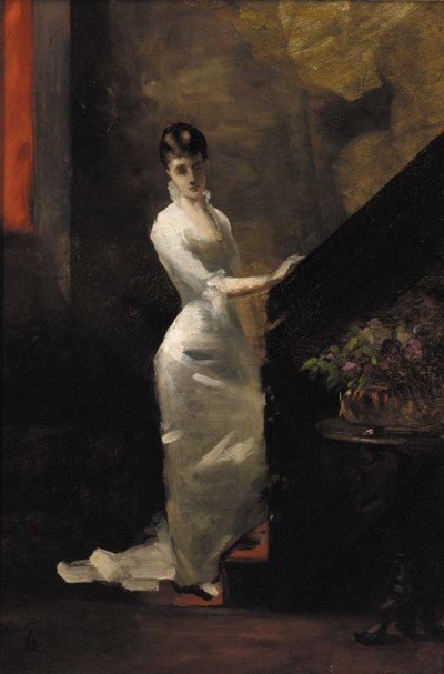 Follower of Alfred Stevens