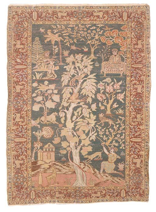A fine silk Pandorma pictorial