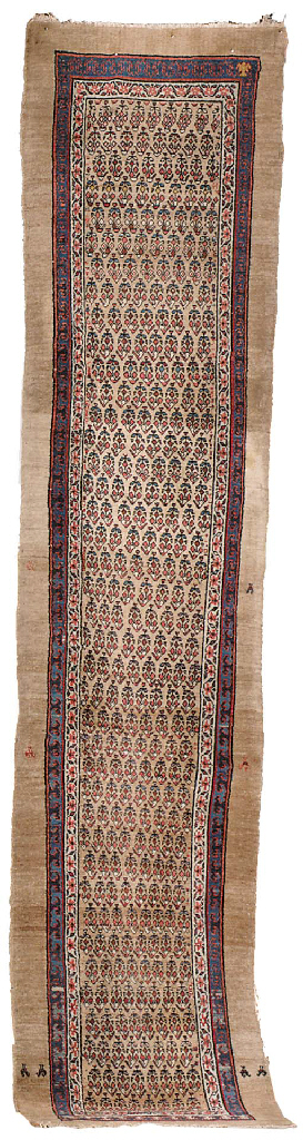 An antique Hamadan runner