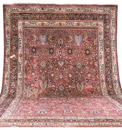 A massive Doroksh carpet, Nort