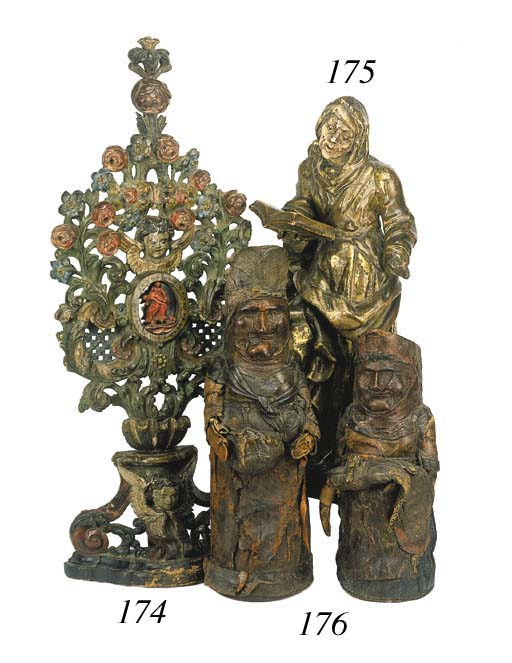 A South German polychrome wood