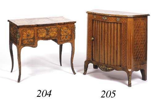 A Louis XV fruitwood crossband