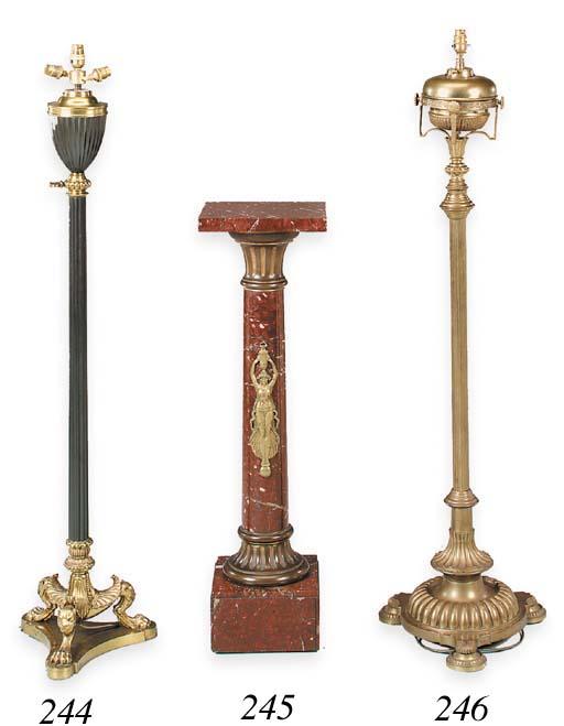 A Napoleon III gilt-metal-moun