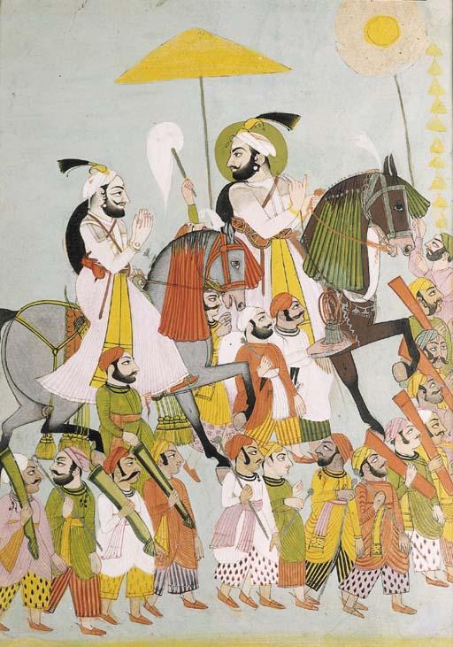 Jagat Singh and Ragodai Jalo