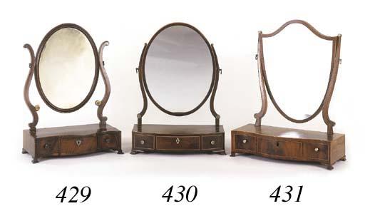 A George III mahogany swing-fr