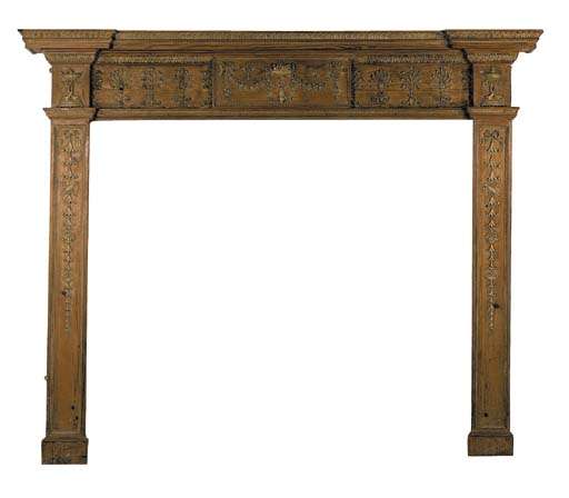 A George III style pine and ge