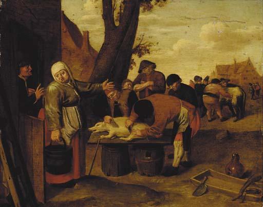 Follower of Pieter de Bloot