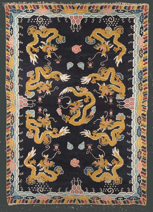 A Tibetan Rug early 20th centu