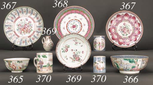 A famille rose bowl 18th centu