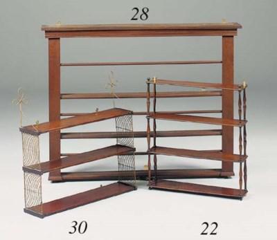 A set of Regency three tier ma