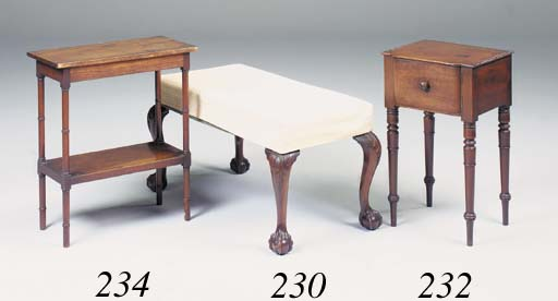 A George IV mahogany two tier