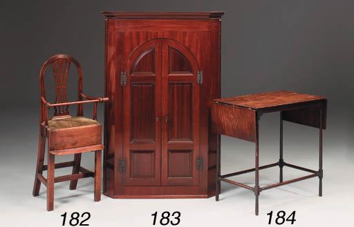 A George III mahogany childs h