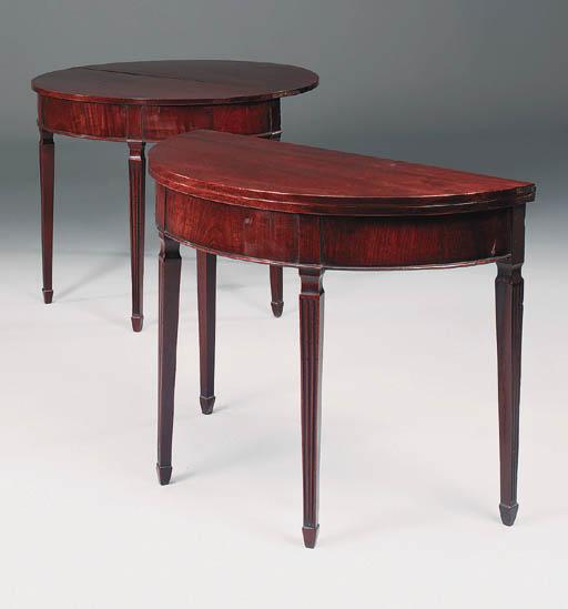 A pair of George III period ma